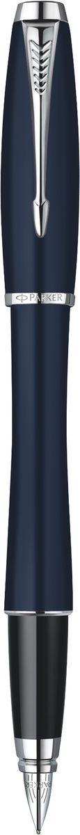 Parker Ручка перьевая Urban Night Sky Blue CT синяя перьевая ручка visconti опера демо кристалл прозр см перо стал хром 18 f vs 651 00f