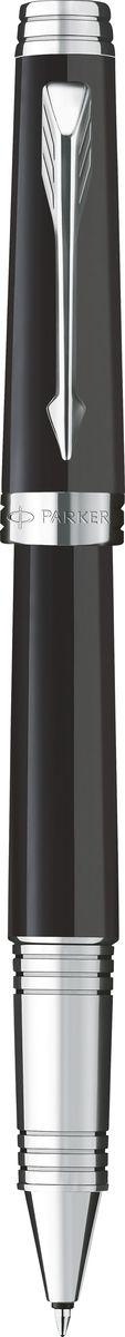 Parker Ручка роллер Premier Lacquer Black ST черная конвертер parker functional z12 s0102040 черный чернила