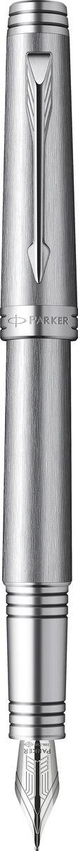 Parker Ручка перьевая Premier Monochrome - Titanium PVD черная