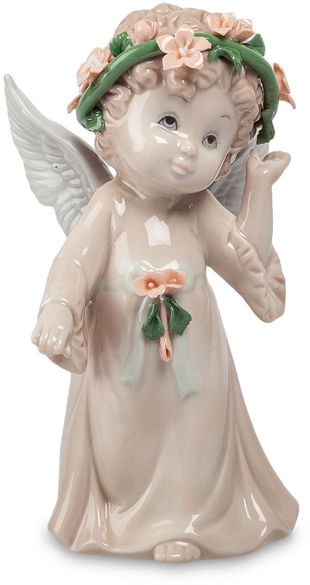 Статуэтка Pavone Ангел, цвет: бежевый, розовый, зеленый. JP-05/ 4 jp 156 4 фигурка кот pavone 782743