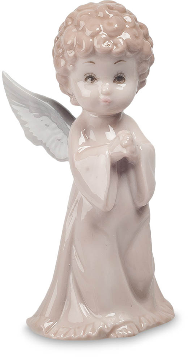 Фигурка Pavone Ангел. JP-05/11JP-05/11Фигурка Ангела высотой 12 см.Саяна - ангел скромности и щедрости.Представляем вашему вниманию фигурку ангела, а конкретнее, Саяна – ангел скромности и щедрости. Слегка застенчивое выражение лица делает статуэтку очень милой и неповторимой в своём роде. Удачно выбранные тона придают элегантность и изысканность сюжету. Белые крылья столь реалистичны, что можно подумать один взмах и вуаля - ангел воспарил к небесам. Фигурка Ангел станет великолепным и удачным приобретением.