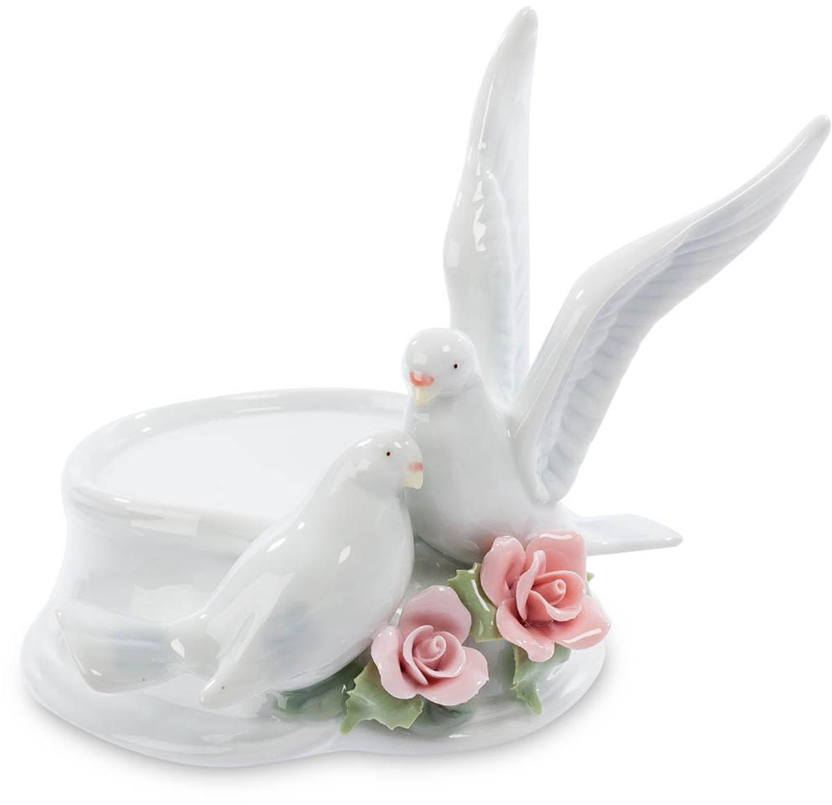 Подсвечник Pavone Голуби. CMS-10/ 6 cms 10 6 подсвечник голуби pavone 782201