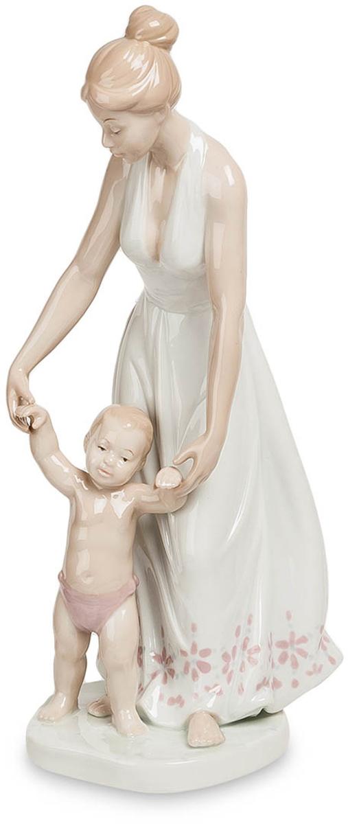 Фигурка декоративная Pavone Девушка с ребенком. JP-15/22 jp 156 4 фигурка кот pavone 782743
