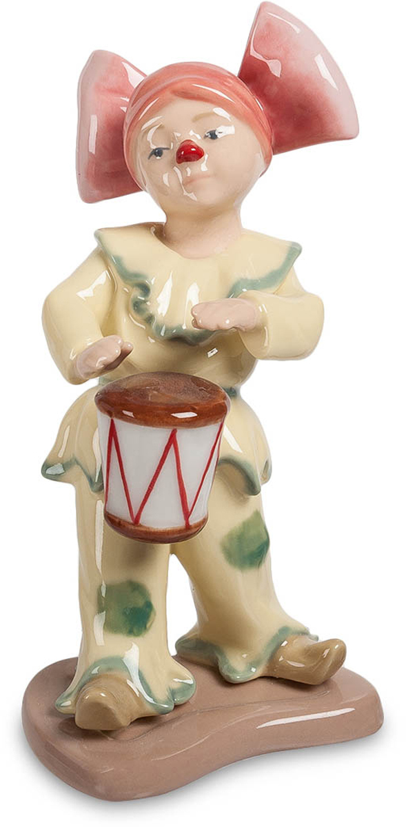 Фигурка Pavone Клоунесса с барабаном. CMS-23/32 cms 20 15фигурка девочки с собачкой pavone