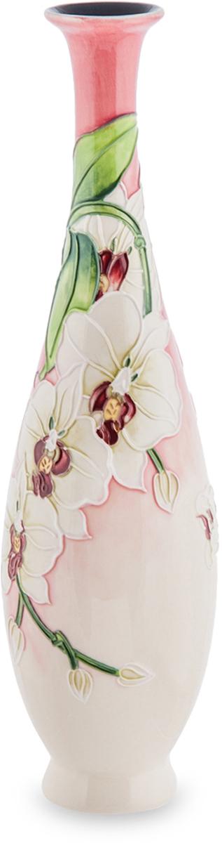 Ваза для цветов Pavone Орхидея, цвет: розовый, высота 30 см. JP-98/18JP-98/18Элегантная ваза Pavone Орхидея выполнена из фарфора и оформлена цветочным узором. Она придется по вкусу и ценителям классики, и тем, кто предпочитает современный стиль. Вы можете поставить вазу в любом месте, где она будет удачно смотреться, и радовать глаз. Такая ваза подойдет и для цветов, и для декора интерьера. Кроме того - это отличный вариант подарка для ваших близких и друзей. Высота: 30 см.