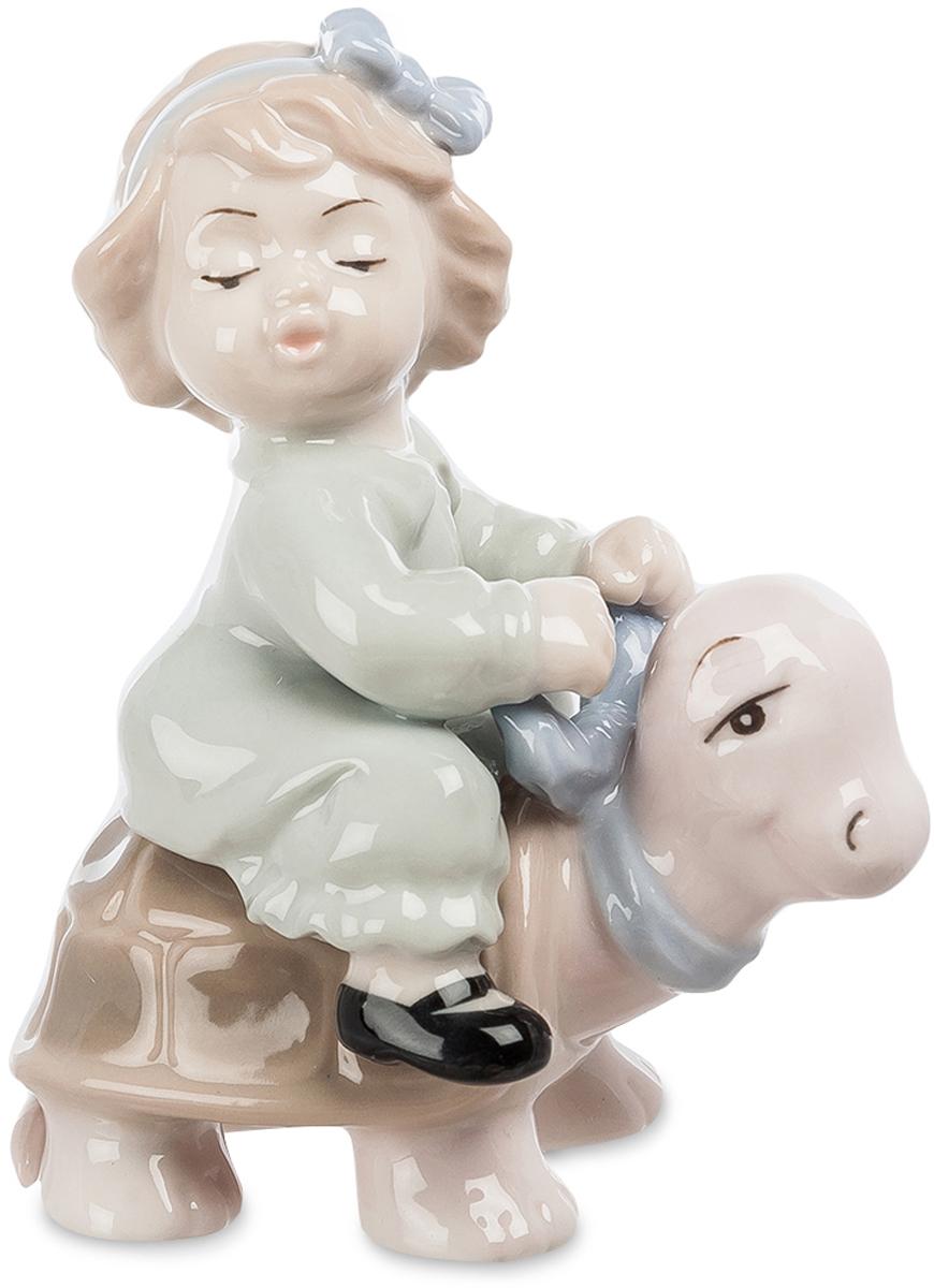 Фигурка декоративная Pavone Девочка верхом на черепашке. JP-36/22 фигурка pavone амурчик jp 09 5