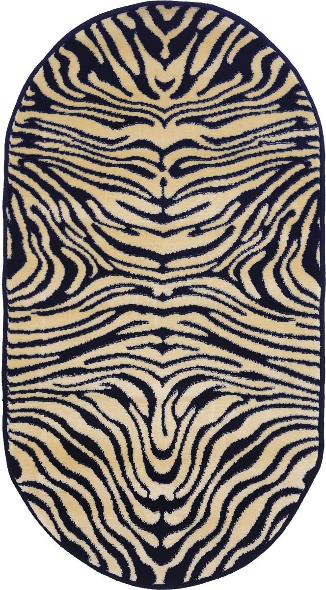 Ковер Kamalak Tekstil, овальный, 60 x 110 см. УК-0037УК-0037Ковер Kamalak Tekstil изготовлен из прочного синтетического материала heat-set, улучшенного варианта полипропилена (эта нить получается в результате его дополнительной обработки). Полипропилен износостоек, нетоксичен, не впитывает влагу, не провоцирует аллергию. Структура волокна в полипропиленовых коврах гладкая, поэтому грязь не будет въедаться и скапливаться на ворсе. Практичный и износоустойчивый ворс не истирается и не накапливает статическое электричество. Ковер обладает хорошими показателями теплостойкости и шумоизоляции. Оригинальный рисунок позволит гармонично оформить интерьер комнаты, гостиной или прихожей. За счет невысокого ворса ковер легко чистить. При надлежащем уходе синтетический ковер прослужит долго, не утратив ни яркости узора, ни блеска ворса, ни упругости. Самый простой способ избавить изделие от грязи - пропылесосить его с обеих сторон (лицевой и изнаночной). Влажная уборка с применением шампуней и моющих средств не противопоказана. Хранить рекомендуется в свернутом рулоном виде.
