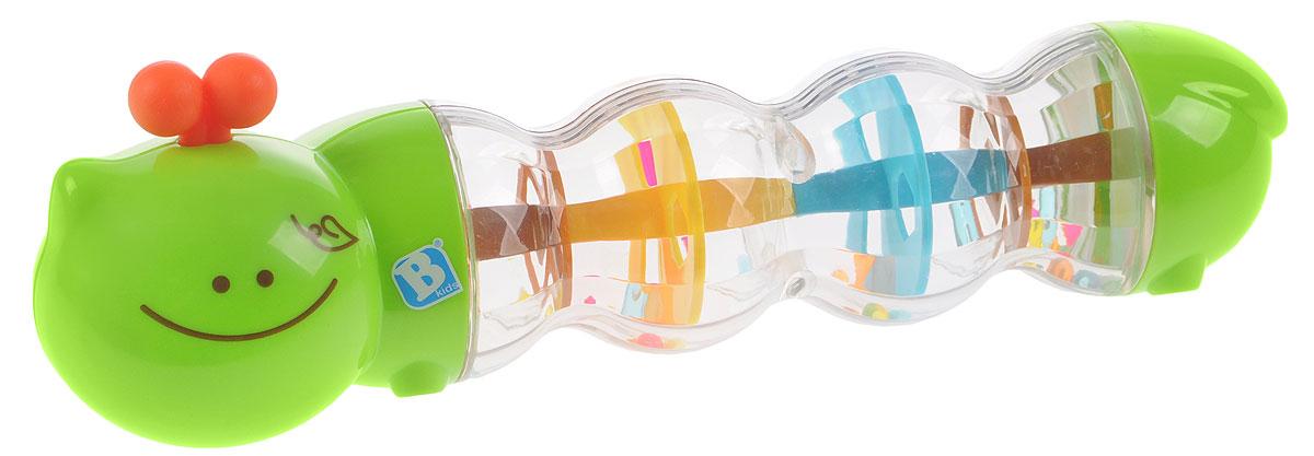 B kids Развивающая игрушка Гусеничка с шариками, Bluebox