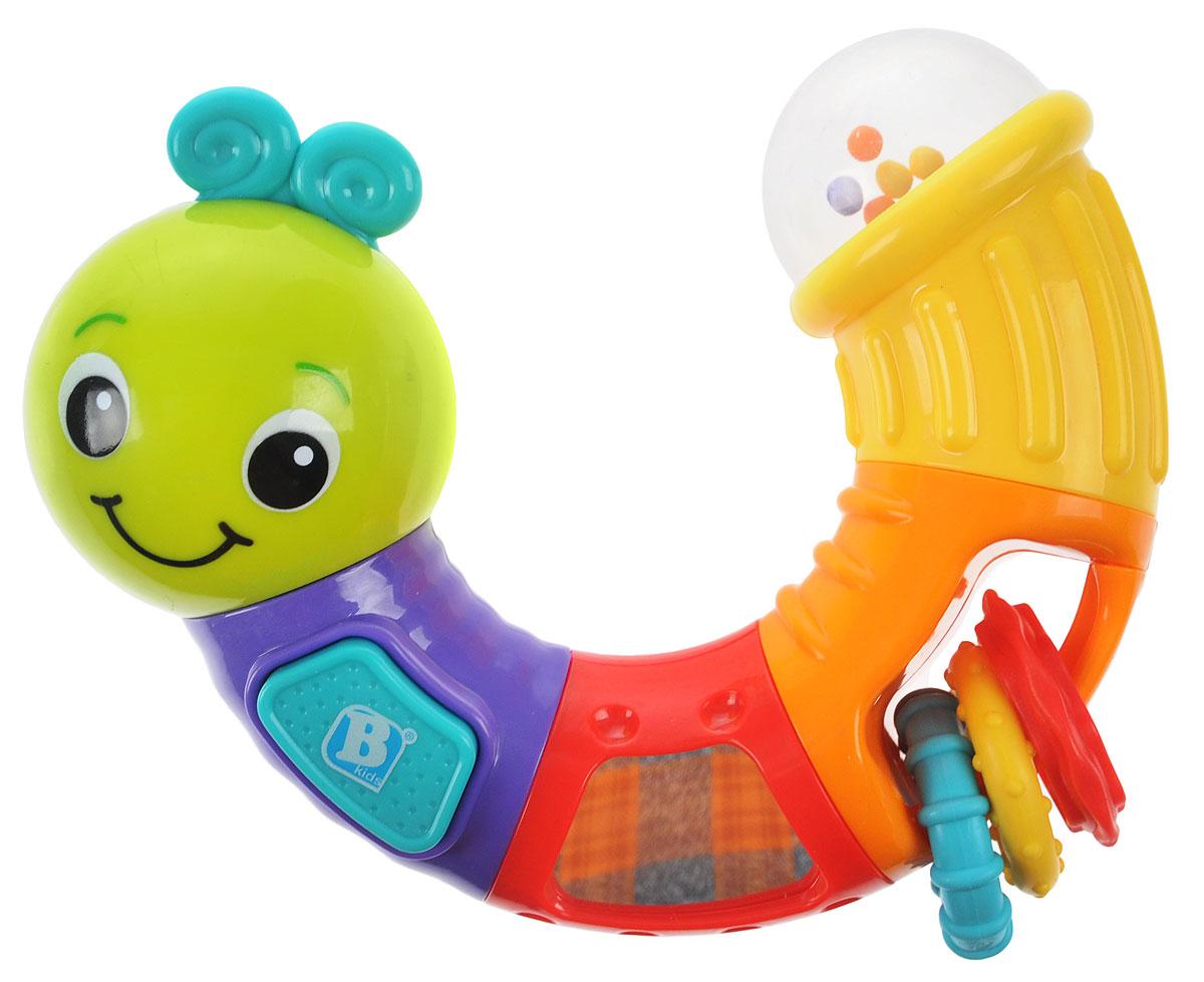 B kids Развивающая игрушка Веселая гусеничка 005129, Bluebox