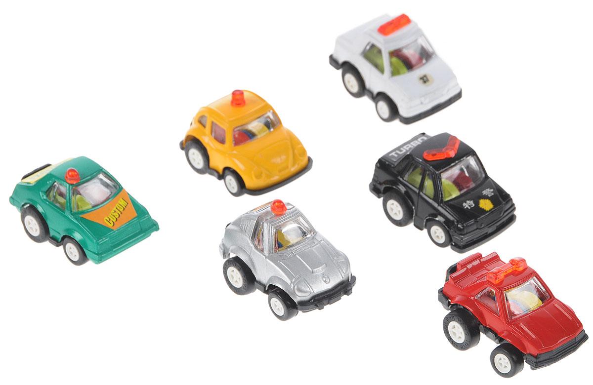 Дрофа-Медиа Набор инерционных машинок Полицейский патруль 6 шт игрушка врумиз набор инерционных машинок спиди софи слон пожарный
