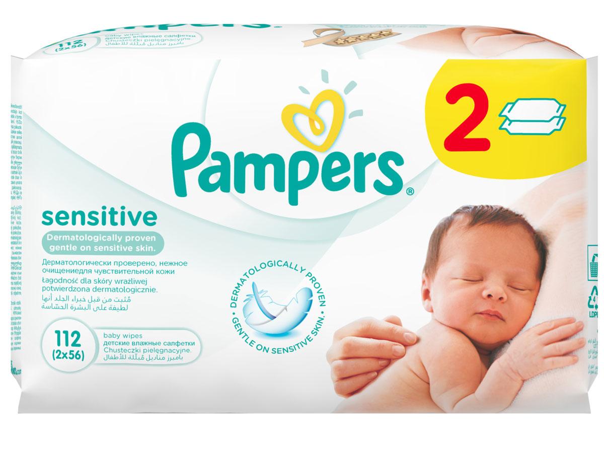 Pampers Детские влажные салфетки Sensitive 112 штPA-81448566Каждый малыш нуждается в нежном очищении, именно поэтому влажные салфетки Pampers Sensitive позволяют бережно заботиться о детской коже. Благодаря своей уникальной мягкой текстуре SoftGrip и дополнительному увлажнению, они очищают кожу малыша еще нежнее, чем раньше, поддерживая естественный уровень pH. Новые салфетки стали на 15% плотнее, чем Pampers Baby Fresh. Чтобы мамам было удобно открывать и закрывать упаковку, а салфетки оставались влажными как можно дольше, добавлена специальная крышечка для многоразового пользования. Не бойтесь сюрпризов с Pampers Sensitive!