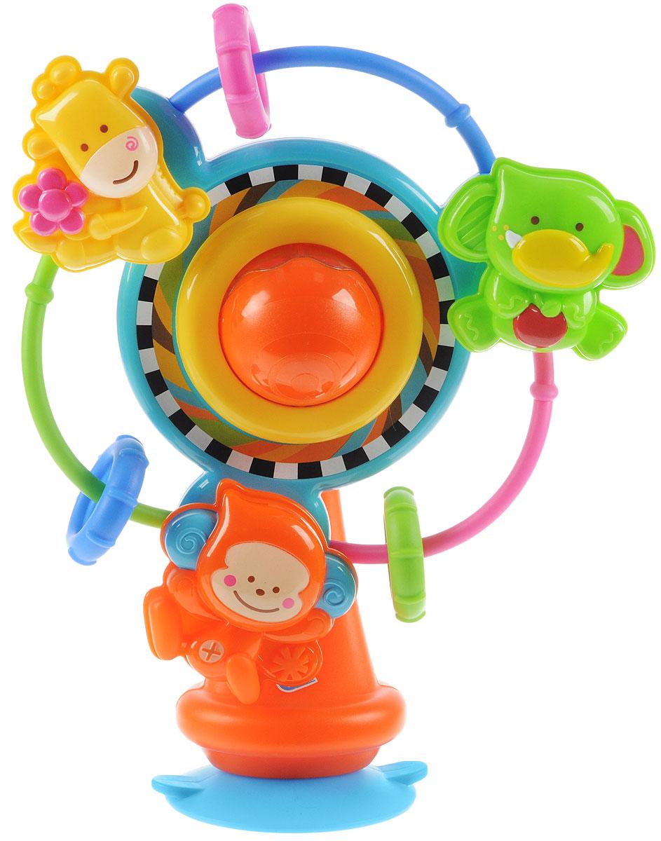 B kids Развивающая игрушка Карусель b kids развивающая игрушка шар конструктор
