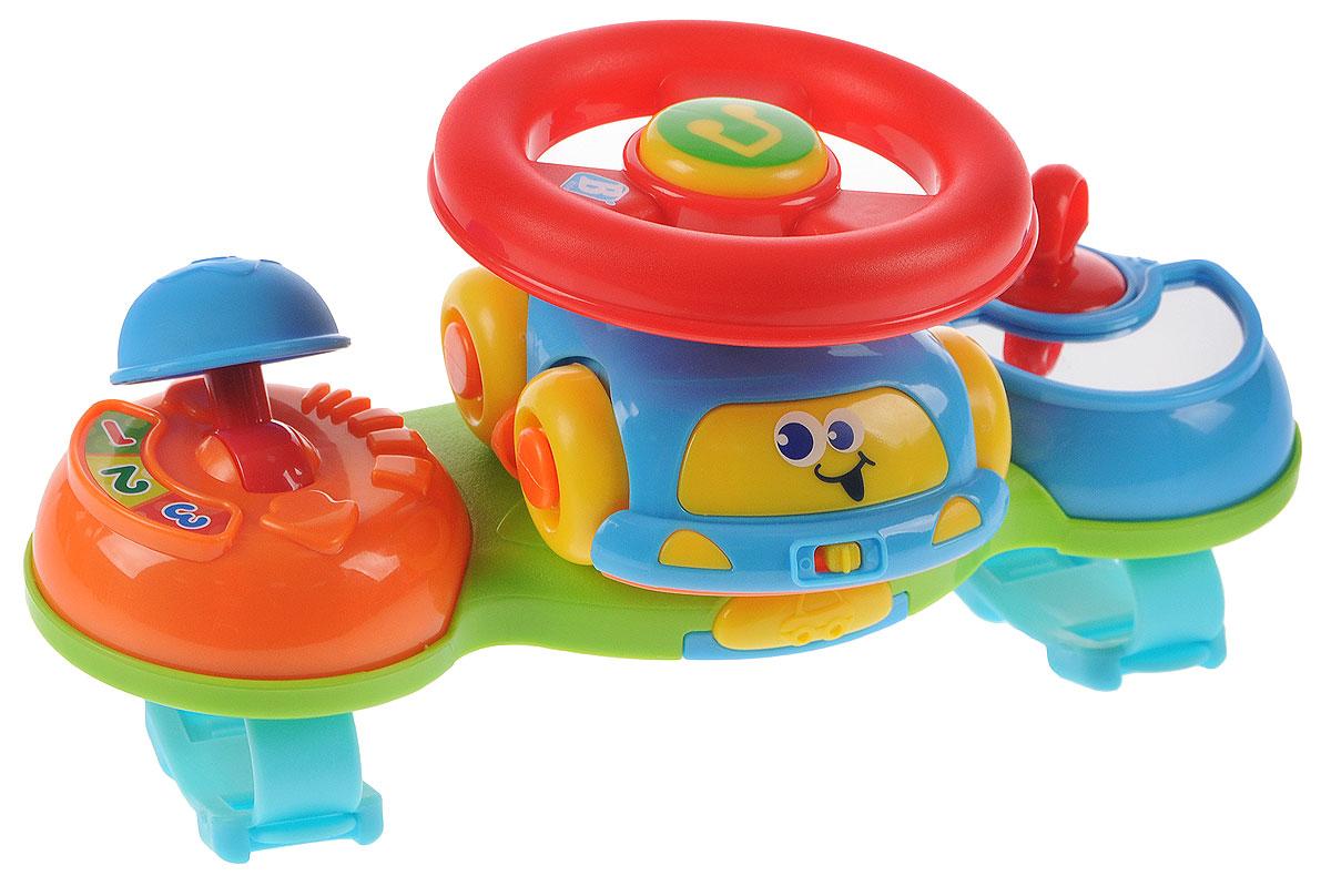 B kids Развивающая игрушка Маленький водитель умка развивающая игрушка руль тачки