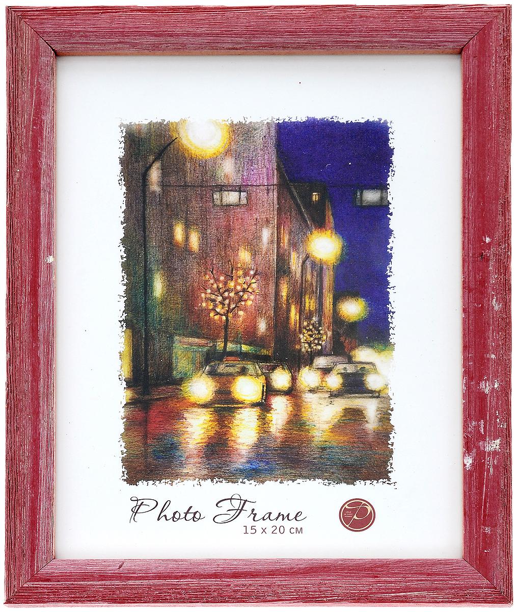 Фоторамка Pioneer Adele, цвет: красный, 15 x 20 см9589101_красныйФоторамка Pioneer Adele, выполненная из дерева, предназначена для фотографии размером 15 х 20 см. Стекло защищает фотографию. Задняя сторона рамки оснащена специальной ножкой, благодаря которой ее можно поставить на стол или любое другое место в доме или офисе. Также изделие имеет крепления для подвешивания на стену. Такая фоторамка поможет вам оригинально и стильно дополнить интерьер помещения, а также позволит сохранить память о дорогих вам людях и интересных событиях вашей жизни.Размер фоторамки: 22,2 х 17,2 см.