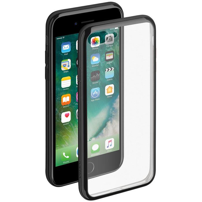 Deppa Gel Plus Case чехол для Apple iPhone 7 Plus, Black85258Чехол Deppa Gel Plus Case для Apple iPhone 7 Plus предназначен для защиты корпуса смартфона от механических повреждений и царапин в процессе эксплуатации. Плотный высокотехнологичный TPU (силикон) производства Bayer в разы повышает защитные функции чехла.Кейс эластичен, устойчив к изломам, не запотевает и не желтеет даже при длительной эксплуатации. Кейс надежно защищает iPhone со всех сторон и имеет все необходимые, тщательно выверенные отверстия для доступа к функциональным портам, разъемам и кнопкам смартфона. Вы можете легко зарядить устройство, не снимая чехол.Специально разработанный кейс для iPhone выполнен с применением особой технологии Electroplating: специальное гальванопокрытие и стильная рамка с эффектом металла придают особый шик вашему устройству.