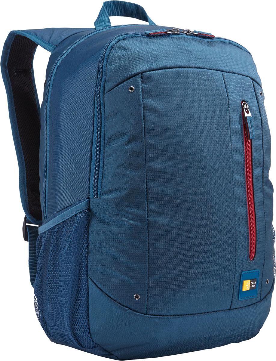 Case Logic Jaunt WMBP-115, Legion Blue рюкзак для ноутбука 15.6''WMBP-115_LEGIONCase Logic Jaunt WMBP-115 - изящное решение для ежедневного удобного и безопасного перемещения электроники и необходимых аксессуаров.Встроенный отдел для ноутбука 15,6, чехол для планшета и внутренний карман для хранения шнура питания позволяют держать электронику под рукой. Возможен быстрый доступ к часто используемым вещам через передний отдел, а организационная панель сохранит аксессуары в порядке, где бы вы ни находились в этот день.В передний карман можно положить необходимые в пути предметы, например телефон или жевательную резинку. Панель-органайзер позволяет хранить небольшие аксессуары, а благодаря петлям для ручек вы всегда сможете сделать необходимую запись.Вшитый отдел для ноутбука 15,6 и чехол для планшетаВнутренний карман для хранения зарядных устройств и кабелей предотвращает их спутываниеСетчатые боковые карманы для бутылок с водой