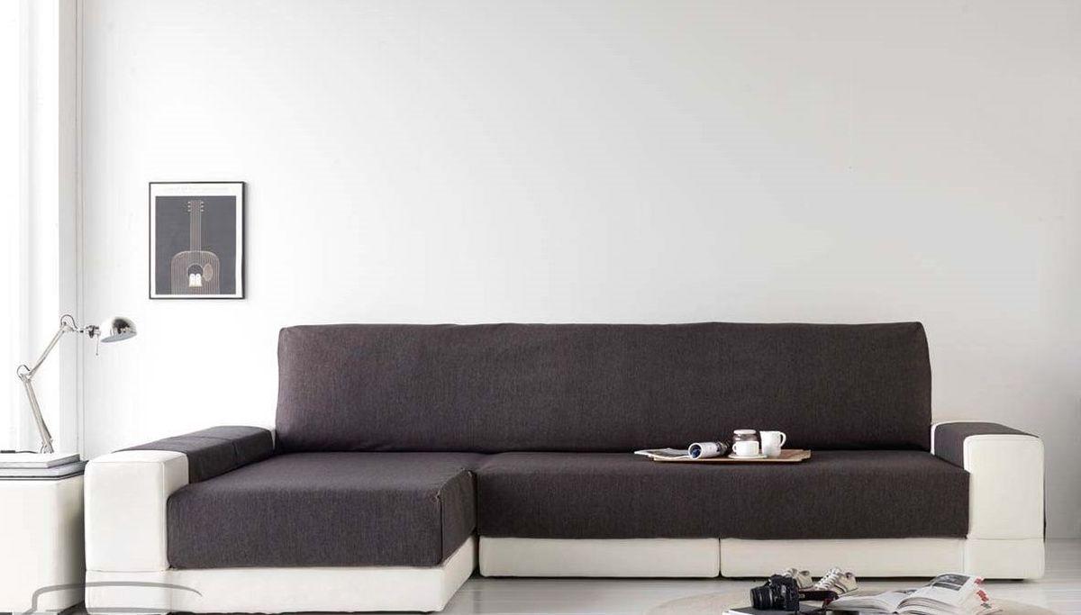 Чехол на диван Медежда Иден, угловой, левый угол, цвет: темно-серый14050212020Чехол на диван Медежда Иден - это универсальная накидка на угловой диван, которая защититваш диван и украсит вашу гостиную. Изделие выполнено из 60% хлопка и 40% полиэстера.Накидка оснащена практичными боковыми карманами, в которых можно хранить пульты, журналыили газеты, очень удобна и проста в установке. Специальные фиксаторы не позволяют накидке съезжать. Ширина накидки: 235 см.
