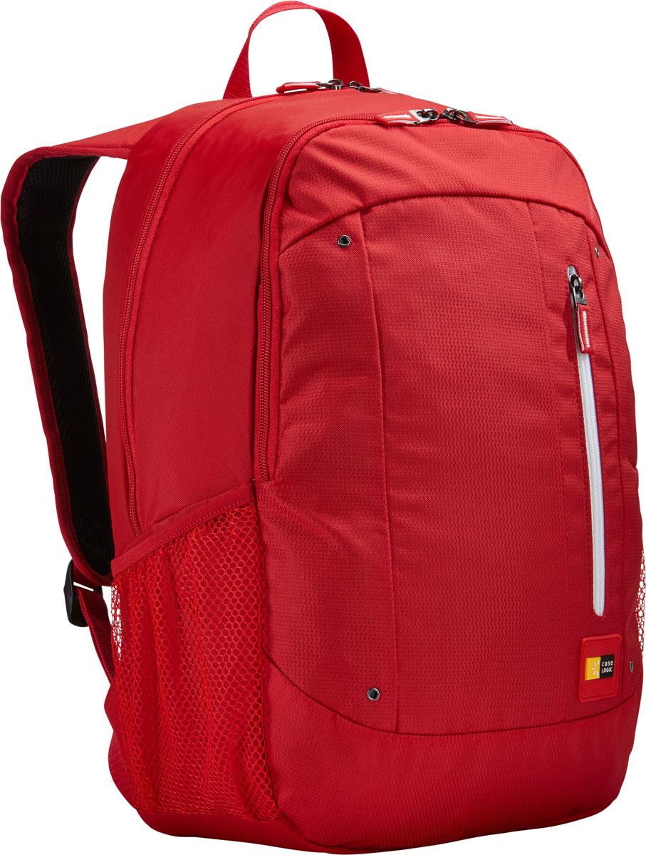 Case Logic Jaunt WMBP-115, Racing Red рюкзак для ноутбука 15.6''WMBP-115_RACING_REDCase Logic Jaunt WMBP-115 - изящное решение для ежедневного удобного и безопасного перемещения электроникии необходимых аксессуаров.Встроенный отдел для ноутбука 15,6, чехол для планшета и внутренний карман для хранения шнура питанияпозволяют держать электронику под рукой. Возможен быстрый доступ к часто используемым вещам черезпередний отдел, а организационная панель сохранит аксессуары в порядке, где бы вы ни находились в этот день.В передний карман можно положить необходимые в пути предметы, например телефон или жевательнуюрезинку. Панель-органайзер позволяет хранить небольшие аксессуары, а благодаря петлям для ручек вы всегдасможете сделать необходимую запись.Вшитый отдел для ноутбука 15,6 и чехол для планшета Внутренний карман для хранения зарядных устройств и кабелей предотвращает их спутывание Сетчатые боковые карманы для бутылок с водой