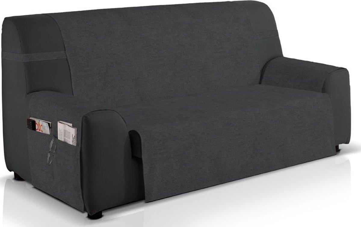 Чехол на трехместный диван Медежда Иден, широкий, непромокаемый, цвет: темно-серый чехол на трехместный диван медежда бостон цвет бежевый