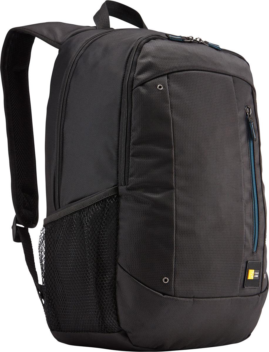 Case Logic Jaunt WMBP-115, Black рюкзак для ноутбука 15.6''WMBP-115_BLACKCase Logic Jaunt WMBP-115 - изящное решение для ежедневного удобного и безопасного перемещения электроники и необходимых аксессуаров.Встроенный отдел для ноутбука 15,6, чехол для планшета и внутренний карман для хранения шнура питания позволяют держать электронику под рукой. Возможен быстрый доступ к часто используемым вещам через передний отдел, а организационная панель сохранит аксессуары в порядке, где бы вы ни находились в этот день.В передний карман можно положить необходимые в пути предметы, например телефон или жевательную резинку. Панель-органайзер позволяет хранить небольшие аксессуары, а благодаря петлям для ручек вы всегда сможете сделать необходимую запись.Вшитый отдел для ноутбука 15,6 и чехол для планшетаВнутренний карман для хранения зарядных устройств и кабелей предотвращает их спутываниеСетчатые боковые карманы для бутылок с водой