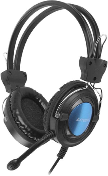 A4Tech HS-19-3, Blue компьютерная гарнитураHS-19-3A4Tech HS-19-3 - легкая стереогарнитура, отлично подходящая для интернет-общения и видеозвонков.Чашки обладают эргономичной круглой формой, поэтому они обеспечивают надежную звукоизоляцию и комфорт даже при длительном использовании.Легкое регулируемое оголовье. Подберите наиболее комфортную для вас длину дужки.Встроенный микрофон отличается чистой и четкой передачей голоса.