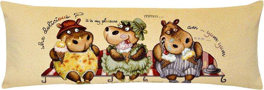 Подушка декоративная Рапира Болтушки, 35 х 90 см декоративные наволочки рапира гобеленовая наволочка баламуты коровка эйфель 50х70 см