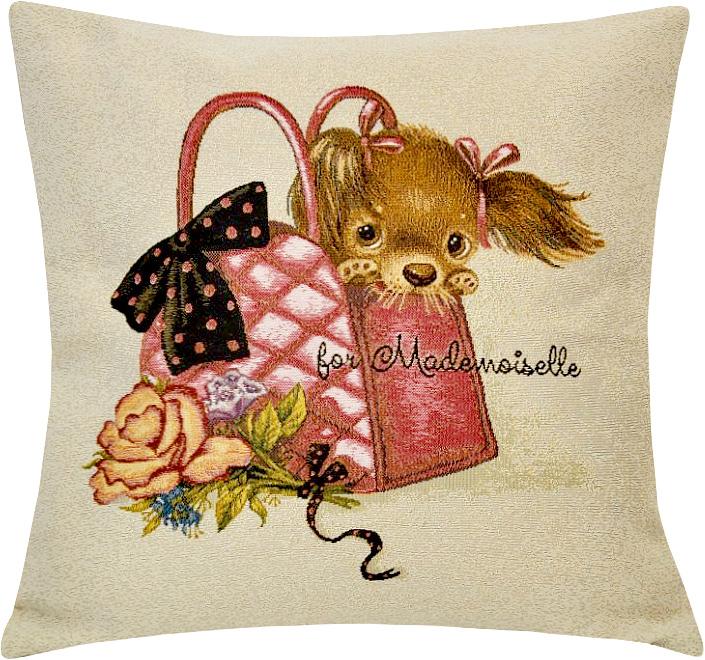Подушка декоративная Рапира Малышка в сумочке, 45 х 45 см