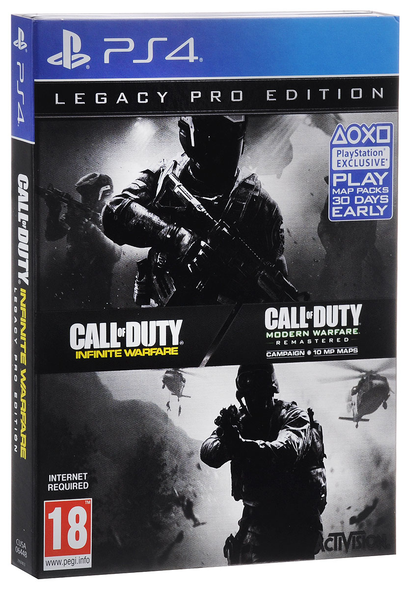 все цены на Call of Duty. Infinite Warfare Legacy Pro Edition (PS4) онлайн