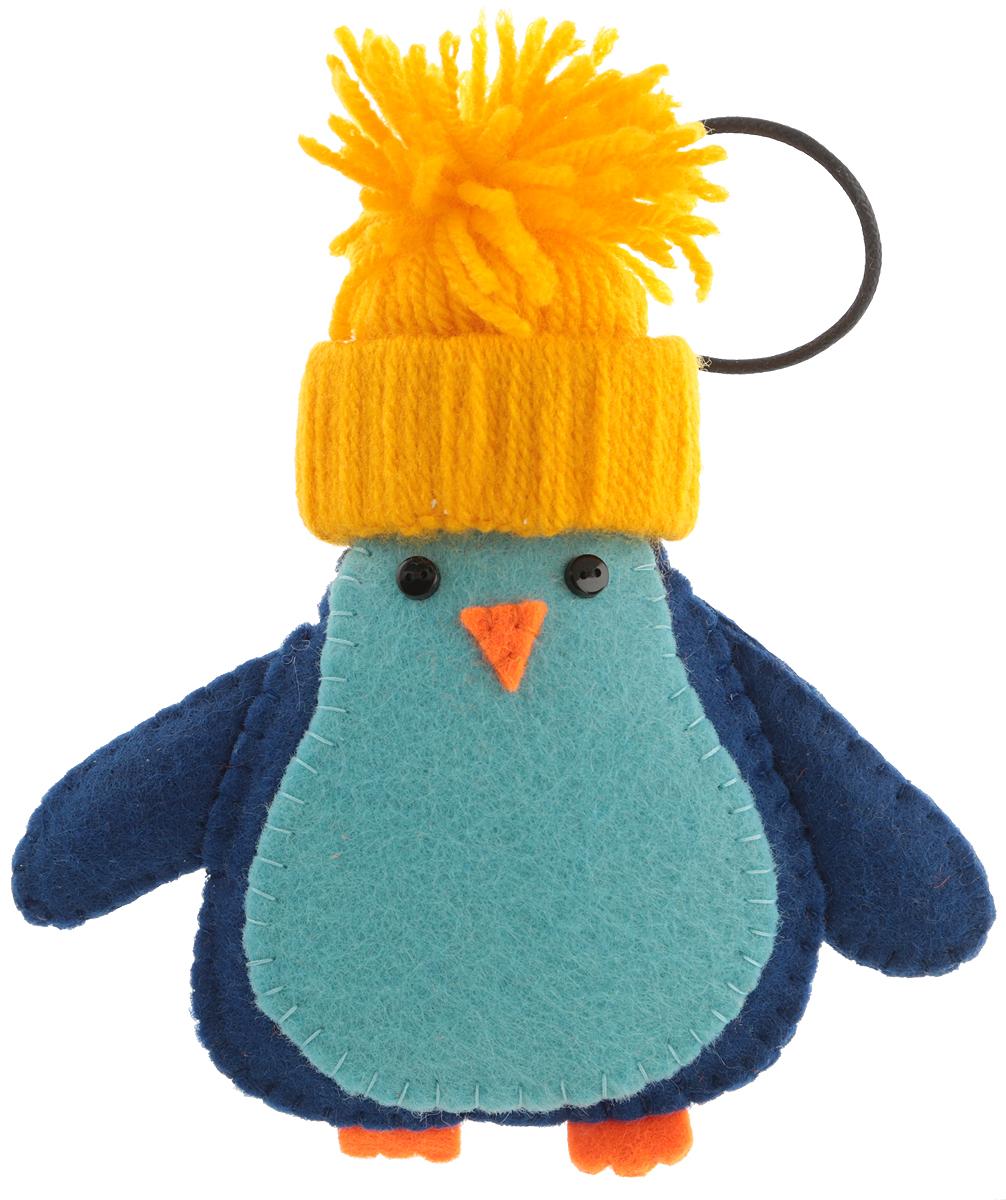 Елочная игрушка  Пингвин . Ручная работа. natiel09 -  Украшения