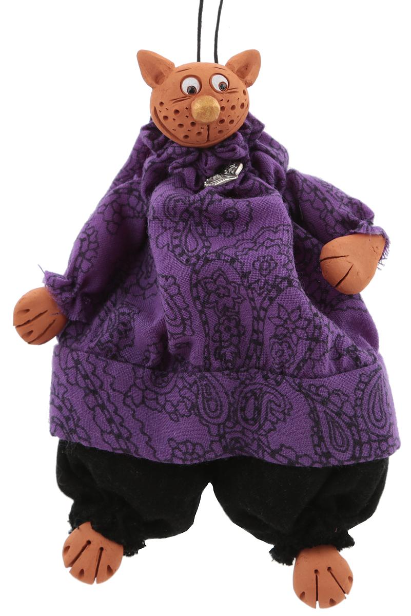 Подвесная кукла Супер кот. Авторская работа. kyrk01 шкатулка санкт петербург храм спаса на крови 6 х 4 см ручная авторская работа