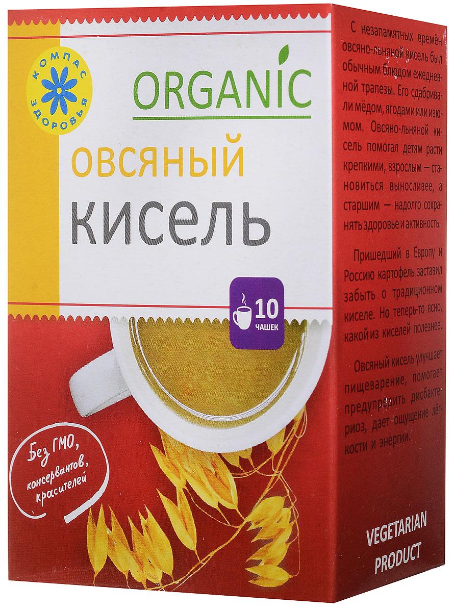 Компас Здоровья Овсяный кисель овсяно-льняной, 150 г еда