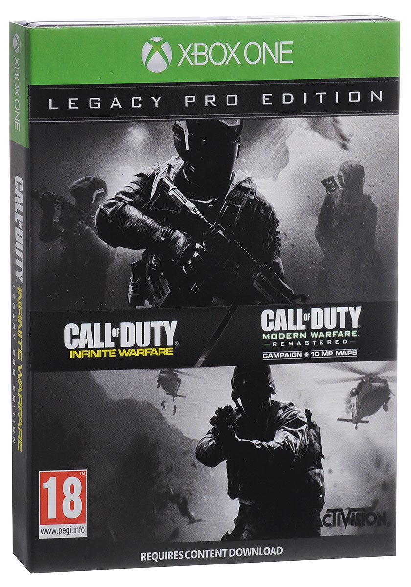 все цены на Call of Duty. Infinite Warfare Legacy Pro Edition (Xbox One) онлайн