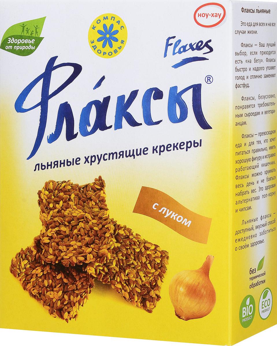 Компас Здоровья Флаксы с луком, 150 г