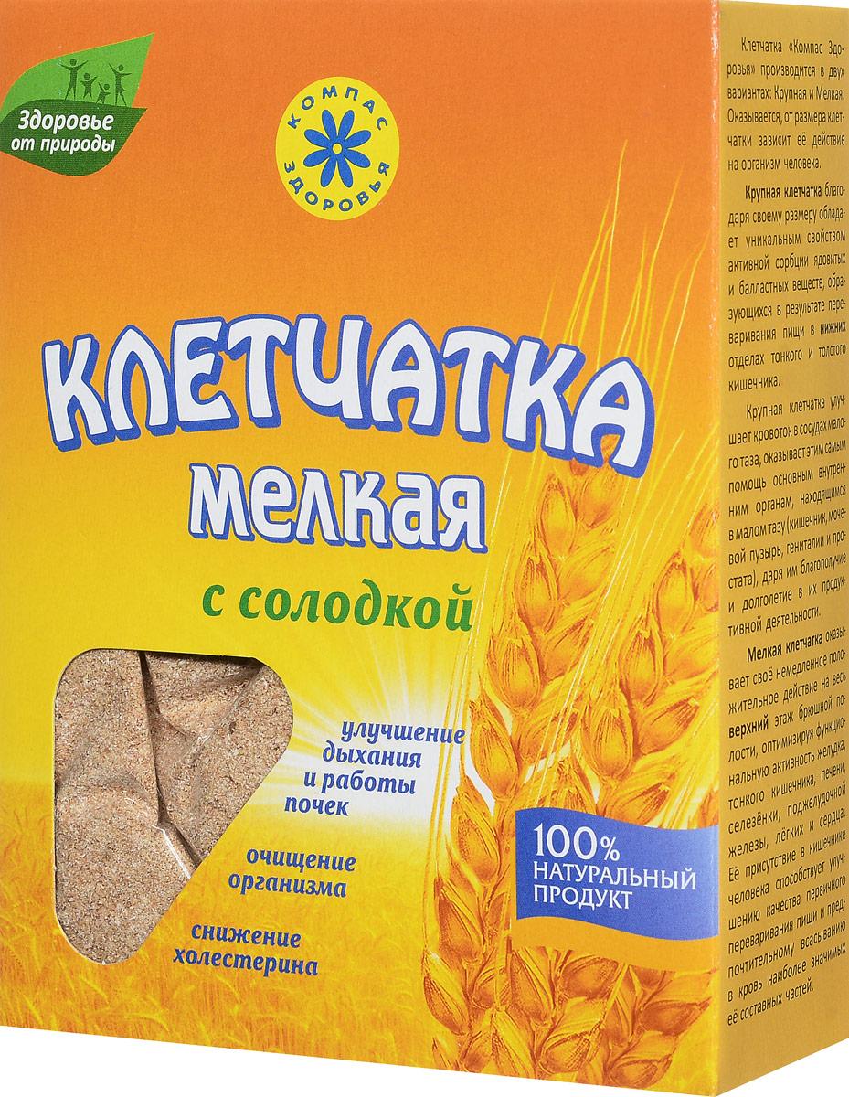 Компас Здоровья Мелкая с солодкой клетчатка пшеничная, 200 г сибирская клетчатка mу body slim фитококтейль имбирь и корица 170 г