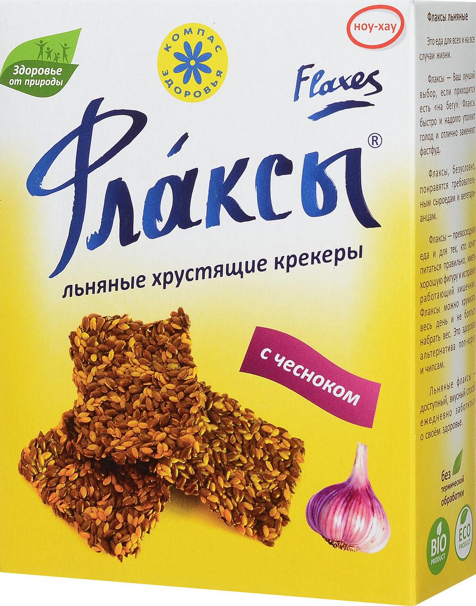 Компас Здоровья Флаксы с чесноком, 150 г
