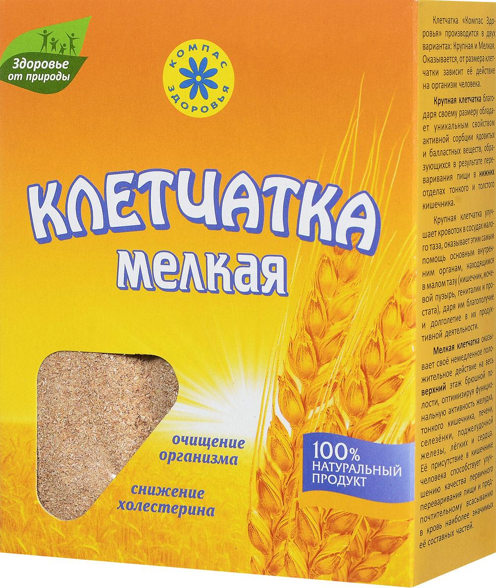 Компас Здоровья Мелкая клетчатка пшеничная, 200 г компас здоровья с имбирем отруби овсяные 200 г