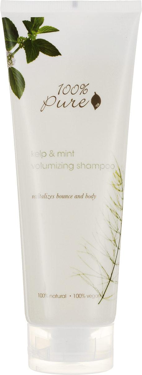100% Pure Шампунь для объема волос Водоросли и Мята, 236 мл1HCSKMV8ozВодоросли и Мята - Шампунь для объема волос! Увлажняющие, супер мягкие шампуни нежно очищают кожу головы и придают волосам блеск, упругость и силу! Укрепляют волосы, делают их более сильными и здоровыми! Не содержат синтетических химических веществ, искусственных красителей, химических консервантов, сульфатов. Уважаемые клиенты!Обращаем ваше внимание на возможные изменения в дизайне упаковки. Качественные характеристики товара остаются неизменными. Поставка осуществляется в зависимости от наличия на складе.