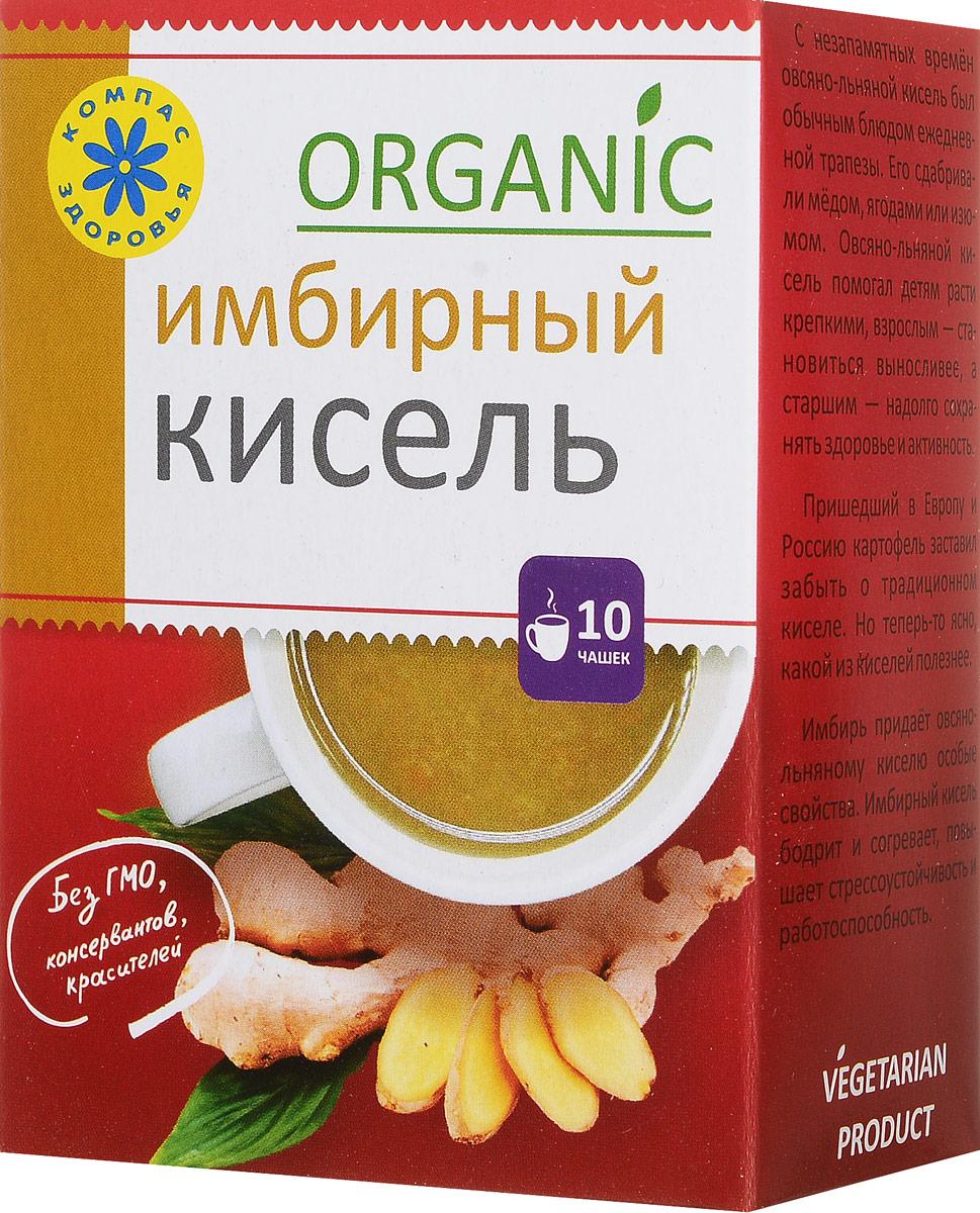 Компас Здоровья Имбирный кисель овсяно-льняной, 150 г с пудовъ кисель молочный ванильный 40 г