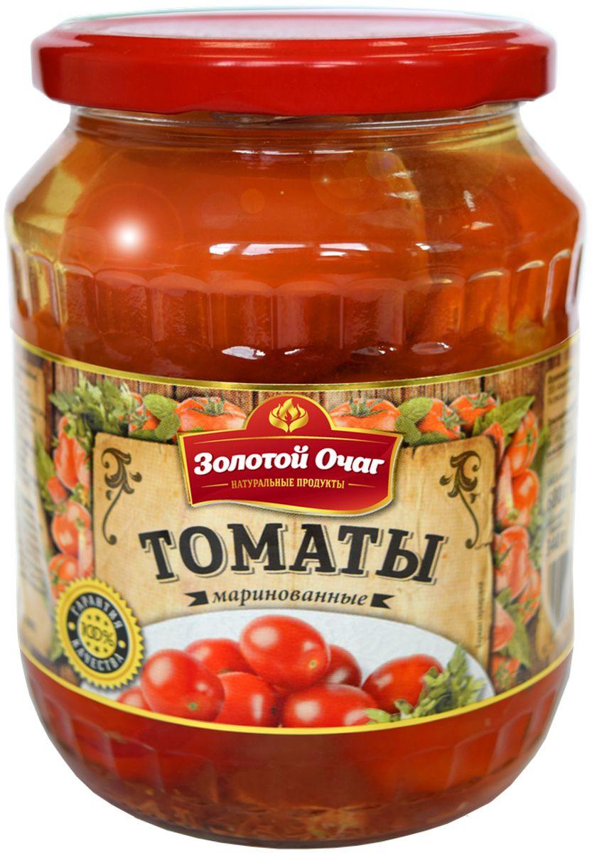 Золотой Очаг томаты маринованные, 680 г огородников томаты маринованные 680 г
