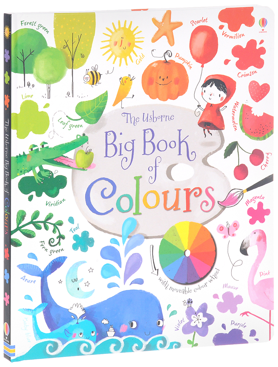 The Usborne Big Book of Colours primary colours pupil s book level 4 primary colours page 4