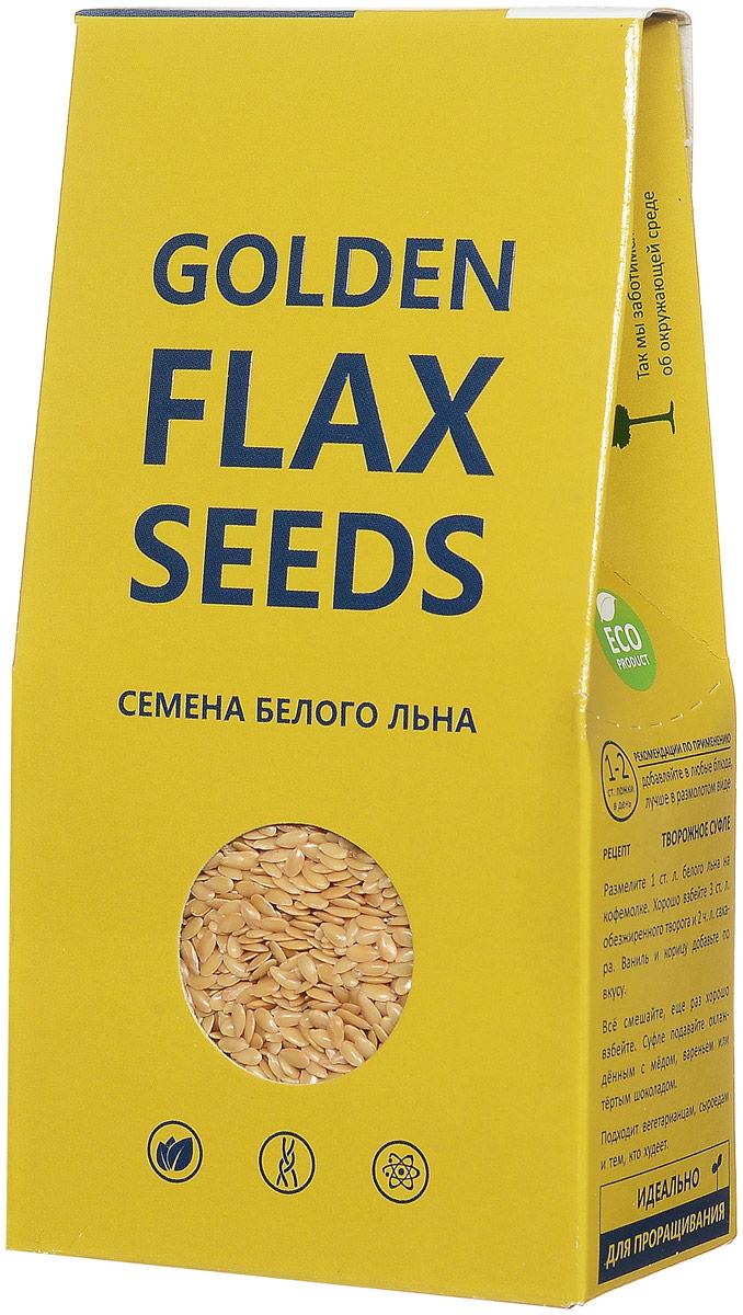 Компас Здоровья Golden Flax Seeds семена белого льна, 150 г био семена льна масличного аривера 210 г