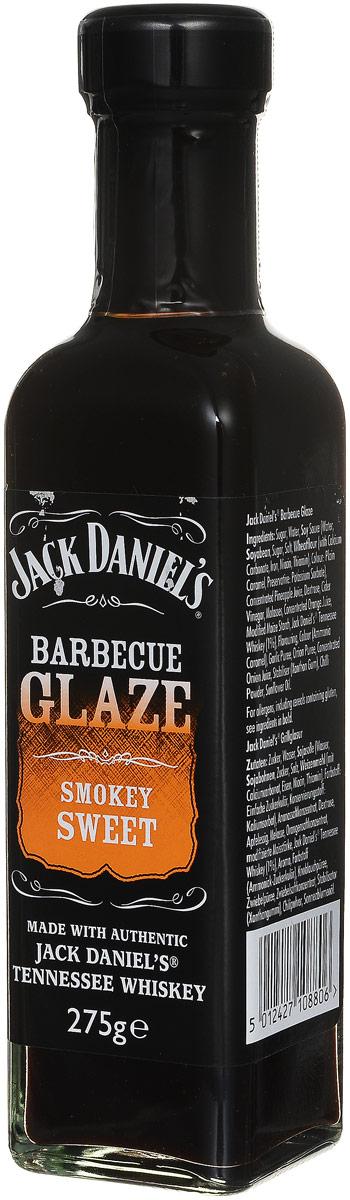 Jack Daniels Сладкий дым соус для барбекю, 275 г5012427108806Изысканный соус для барбекю Jack Daniels Сладкий дым, приготовленный с добавлением виски.Отличается пикантным кисло-сладким вкусом и пряным ароматом с дымными нотками. Продукт готов к употреблению. Идеально подходит для мяса, рыбы или овощей.