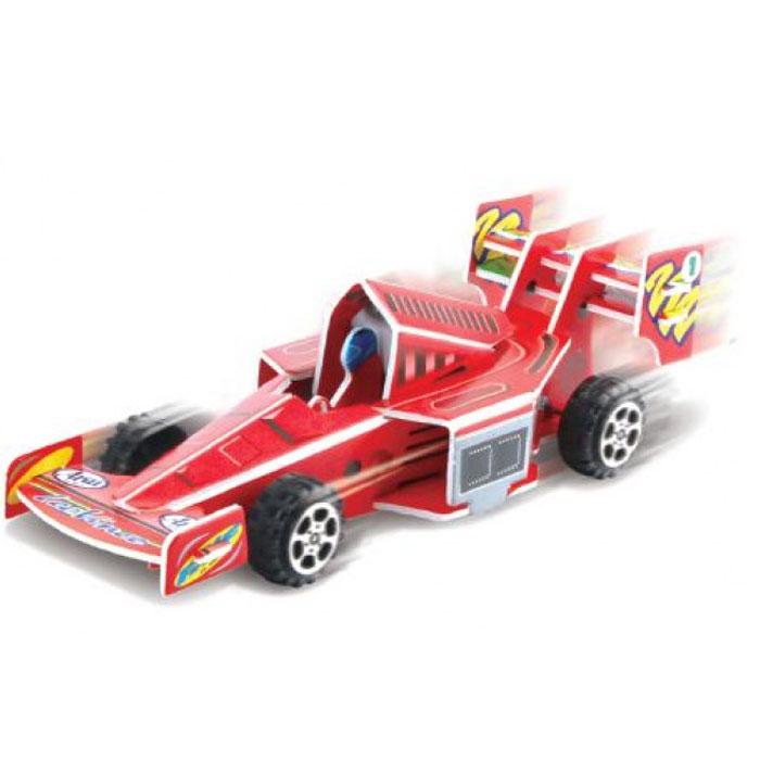 Pilotage 3D Пазл Гоночная машина цвет красный