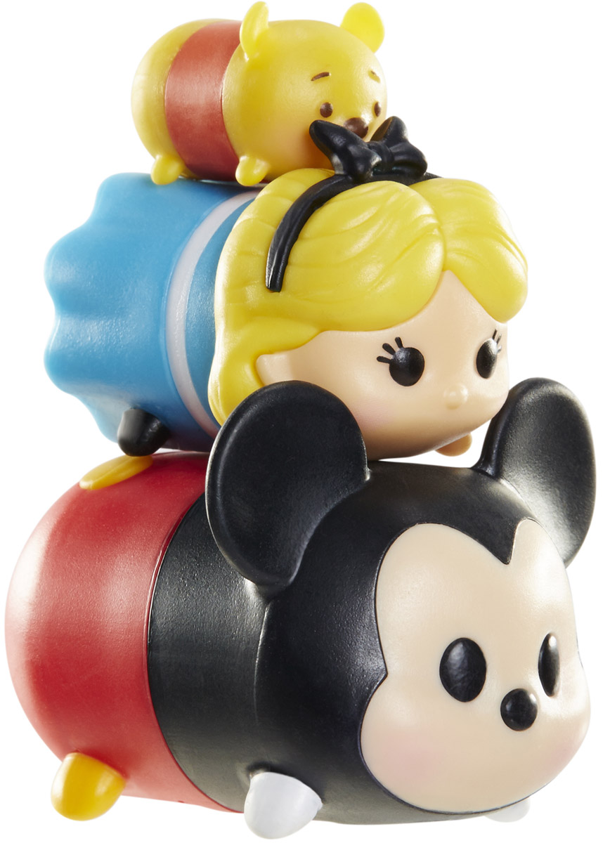 Tsum Tsum Набор фигурок Винни Алиса Микки new in box tsum tsum stack n play toy shop original
