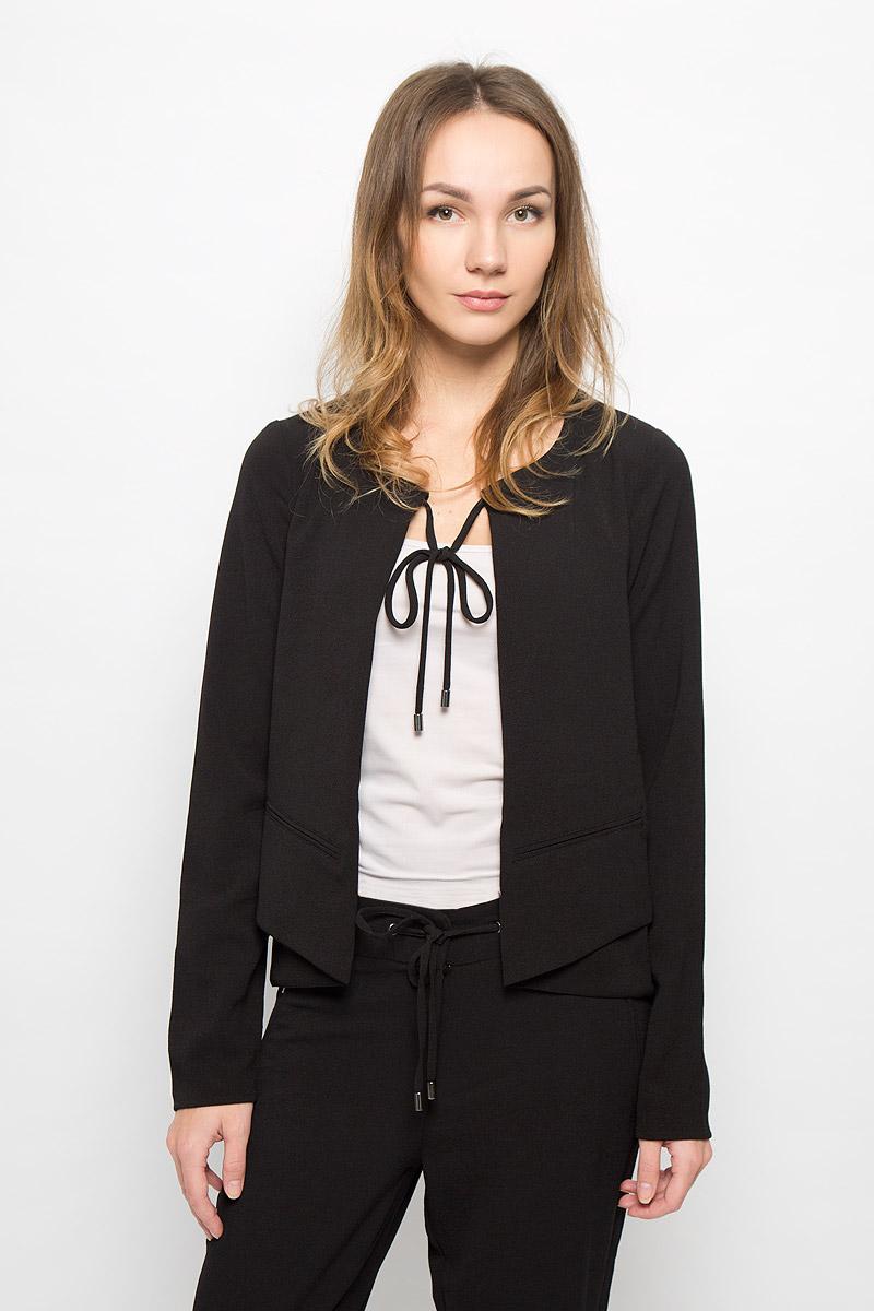 Купить Жакет женский Tom Tailor Contemporary, цвет: черный. 3922731.00.75_2999. Размер 36 (42)