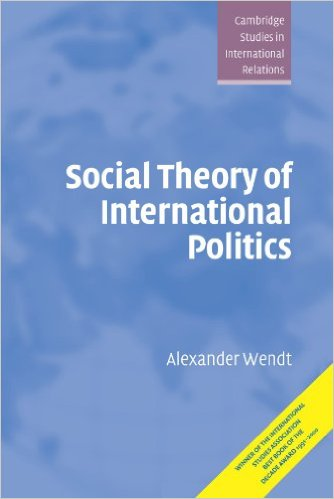 Social Theory of International Politics introducing social theory