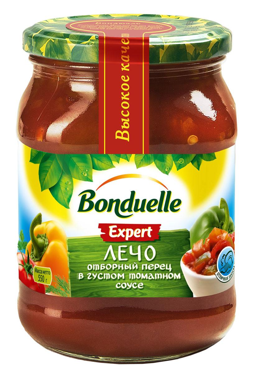 Bonduelle лечо, 530 г5963Лечо, которое легко поборется за звание самого вкусного: сочный, хрустящий сладкий перец в густом, натуральном кисло-сладком томатном соусе - традиционный богатый вкус и совершенно без консервантов и ароматизаторов.