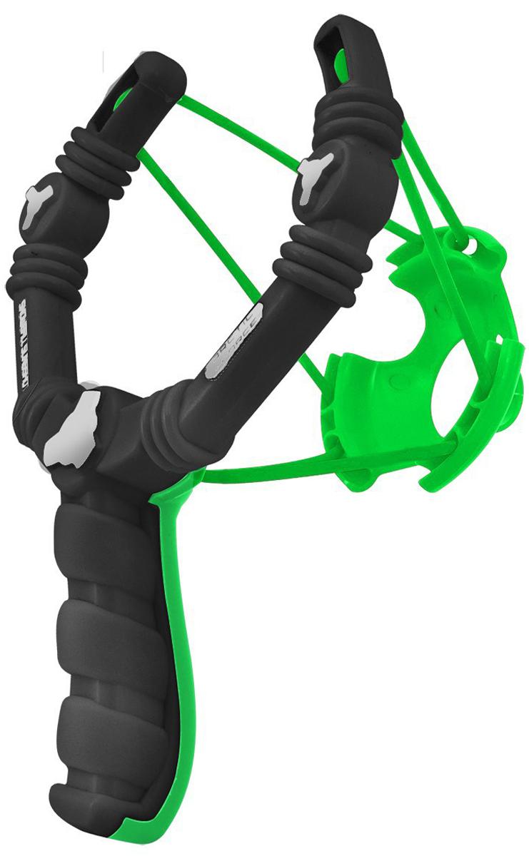 Снежко-бластер Arctic Force  Slingshot , цвет: черный, зеленый - Игры на открытом воздухе