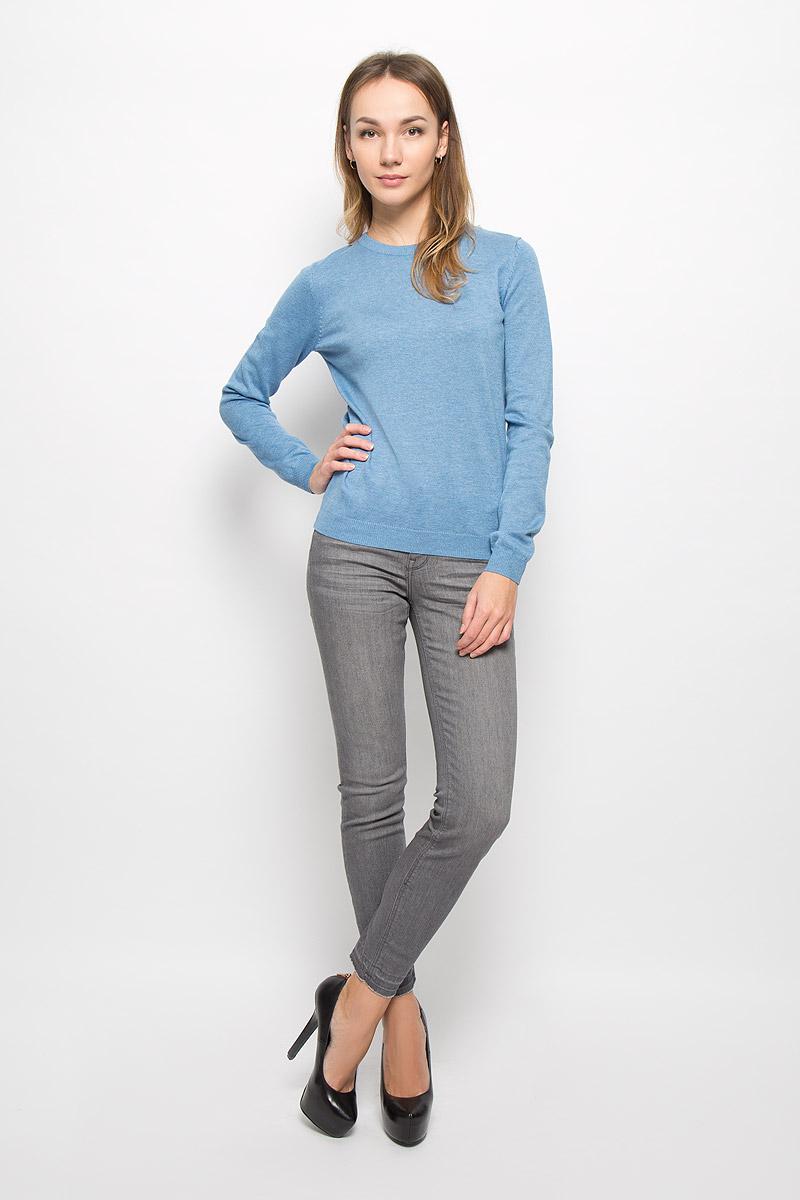 Джемпер женский Tom Tailor Denim, цвет: голубой. 3021375.09.71_6308. Размер XS (42) джемпер женский tom tailor цвет персиковый 2531198 00 71 5563 размер l 48