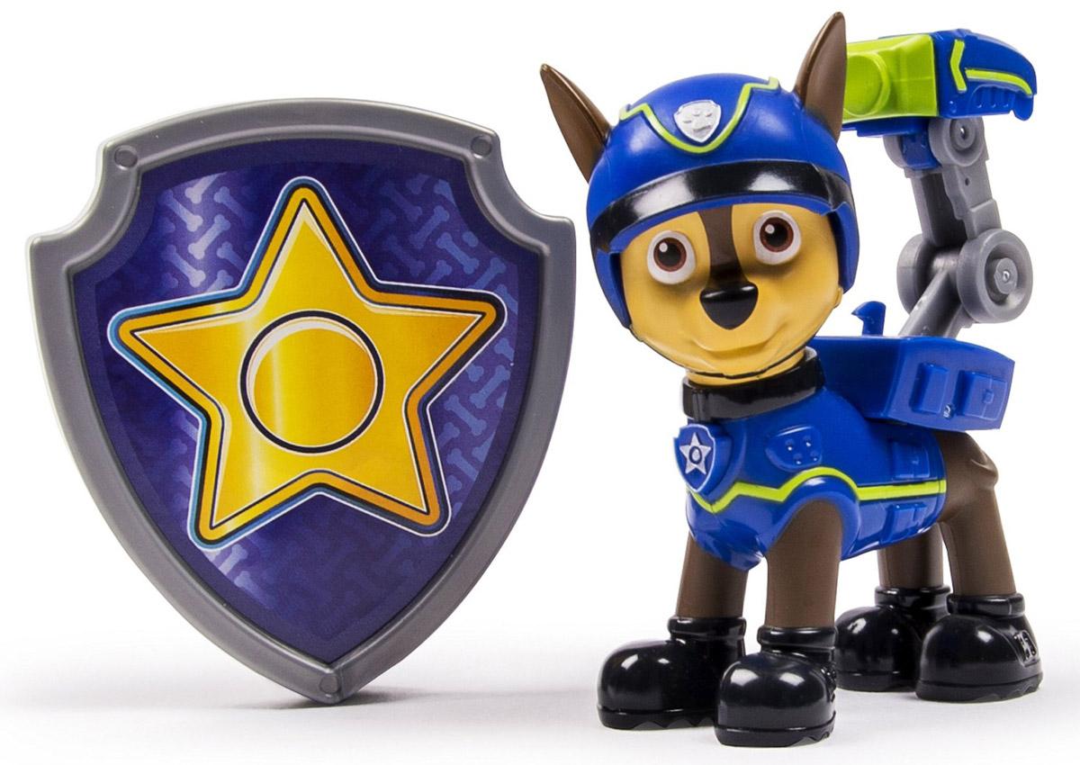 Paw Patrol Фигурка Spy Chase со значком конструктор paw patrol полицейский патруль spin master
